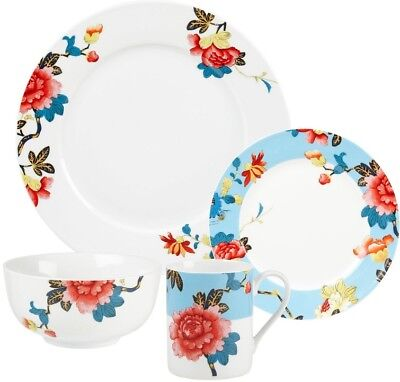 Spode Home Isabella China Dinnerware 16-piece Set Service for 4 NEW  FREE SHIP