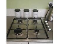 Zanussi 4 burner gas hob for sale