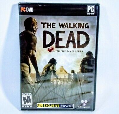 Walking Dead: Limited Best Buy Edition (PC) Brand New Sealed with Poster