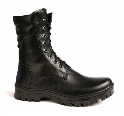 Winter Soldier Boots (Russian military genuine leather boots OMON soldier soviet boots winter)