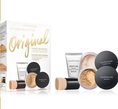 Mineral Make-up Starter Kit (Bare Minerals 4pc Starter Kit Golden Ivory)