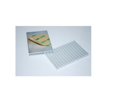 2pcs 58364mm Aluminum Heat Sink For Led Power Ic Transistor Module A230