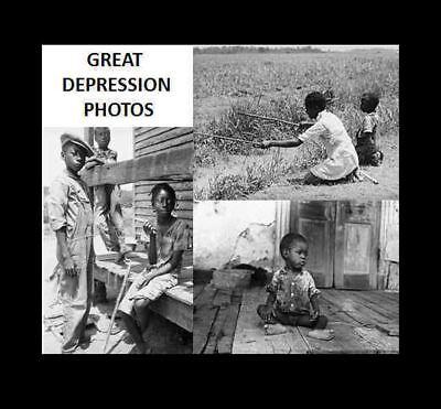 1936 Black Negro Children PHOTO Lot Great Depression, 3 Photos, LA MS Delta Kids
