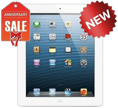 NEW Apple iPad 4th Generation 16GB, Wi-Fi, 9.7in - White (Latest Model)