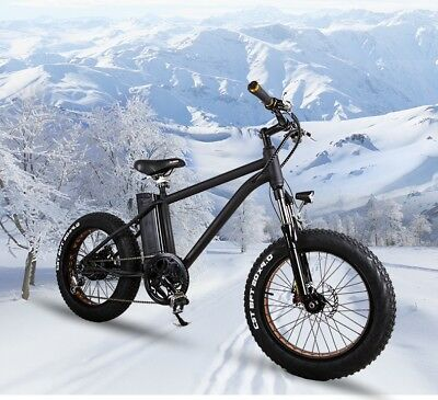 ELECTRIC MOUNTAIN FAT TIRE E-BIKE **BRAND NEW** EBIKE **UK STOCK**