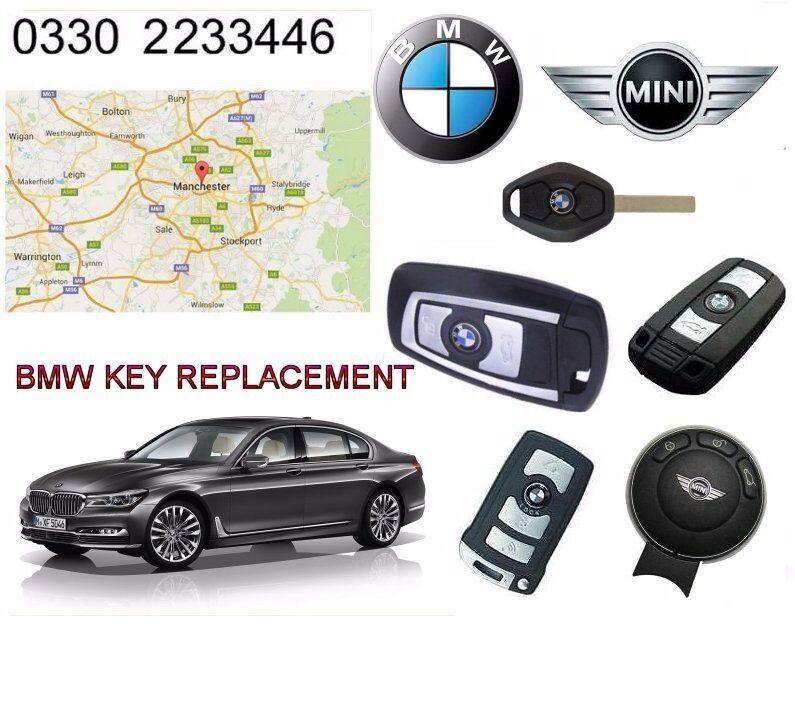 BMW KEY KEYFOB MANCHESTER - All Lost + Damaged Car Keys Repaired or