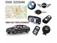 BMW KEY KEYFOB MANCHESTER - All Lost + Damaged Car Keys Repaired or Replaced - Key Programming
