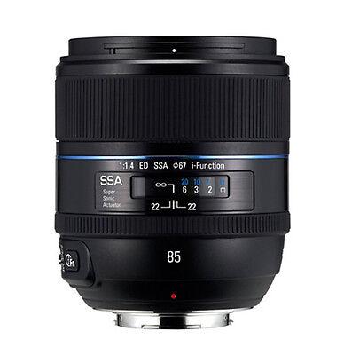 Samsung NX 85mm f/1.4 ED SSA Telephoto Prime Lens (White Box) -T85NB