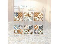 STUNNING BAEZA VINTAGE COLOURFUL SPANISH FLOOR & WALL TILES 33x33cm JOBLOT 15m²