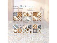 STUNNING BAEZA MOROCCAN VINTAGE COLOURFUL FLOOR & WALL TILES 33x33cm 10m²