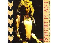 Robert plant records