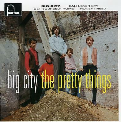 "PRETTY THINGS 'Big City 7"" 45 NEW electric banana psych kinks who rolling stones"