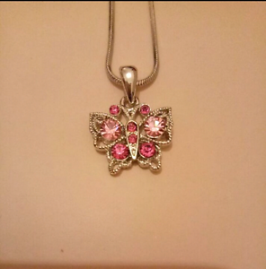 Butterfly necklace Croydon Burwood Area Preview