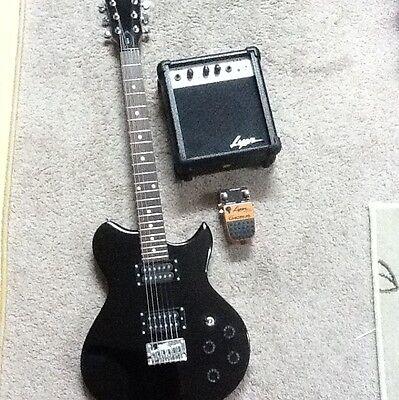 lyon by washburn electric guitar li15 and stereo chorus. Black Bedroom Furniture Sets. Home Design Ideas