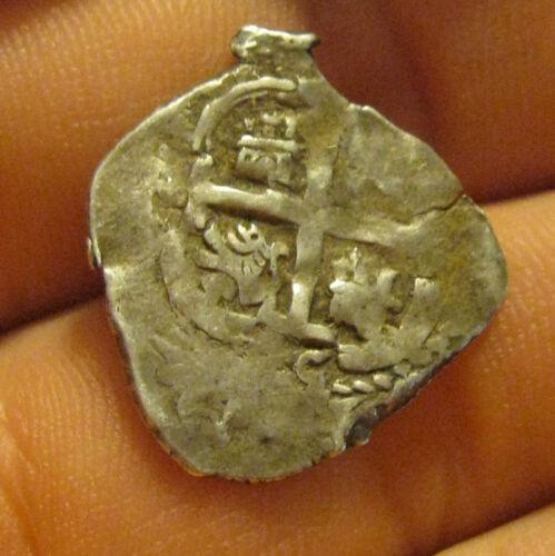 Bolivia - 1685 Silver Real (Cob Coin)