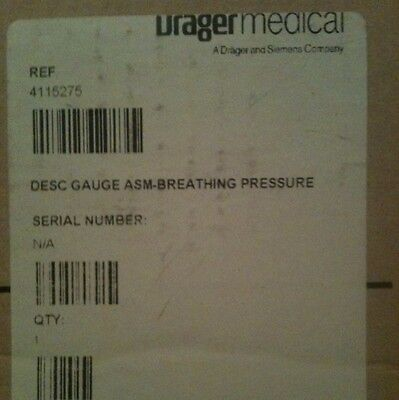 Oem Drager Medical Anesthesia Part 4115275 New In Factory Packaging