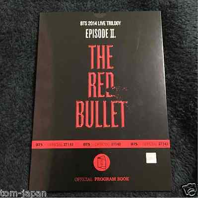 BTS Bangtan Boys LIVE TRILOGY EPISODE Ⅱ THE RED BULLET TRB PROGRAM BOOK F/S