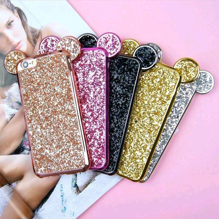 Mickey Mouse Glitter Phone Cases  4c69d47fb693