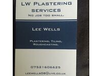 lw plastering services