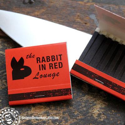 Rabbit In Red Lounge Matchbook - Michael Myers Halloween Movie Prop Replica
