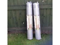 2 Rolls of Breathable Roofing Felt 50m by 1.5m