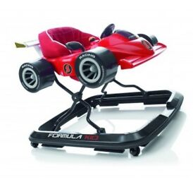 Brand New Formula One Baby Walker (Red)