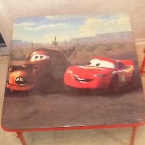 Disney Cars Activity Table  & Baby Alive Doll