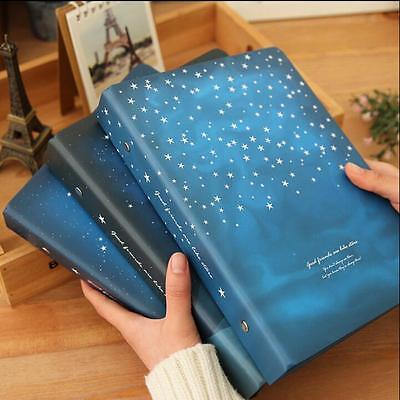 """""""Good Night"""" 1pc Journal Diary Big Loose Leaf Notebook Coil Lined Papers Planner"""