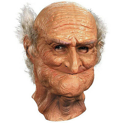 Disguise Men's Male Oldie Adult Vinyl Costume Mask