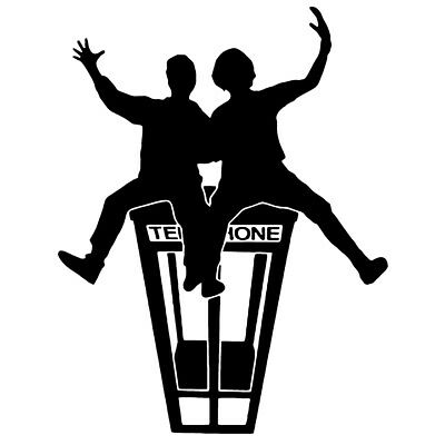 - Bill and Ted vinyl decal sticker Excellent adventure bogus journey