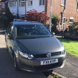 Volkswagen Polo S Grey 2011 A-C 1.2 5dr BRAND NEW MOT