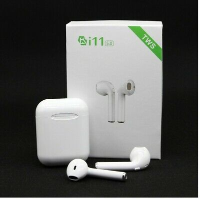 i11 TWS Bluetooth 5.0 Wireless Earphone Headphones In Ear Music Earbuds iPhone