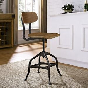 New in Box 3 x Modway Industrial / Rustic Dining / Bar Stools