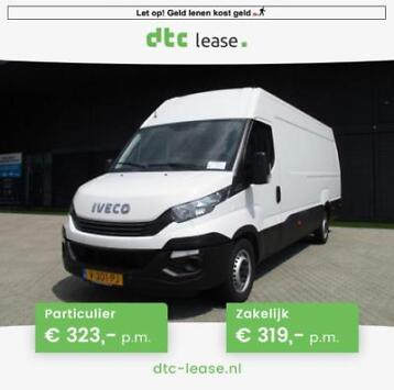 Iveco Daily 2017 Financial Lease v.a. €319,- p.m.
