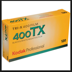 120 Medium Format Black & White or Colour Print/Slide Film