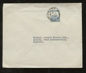 PALESTINE-1945-SOLO-FRANKING-15p-COVER-to-YORKSHIRE-GB-JAFFA