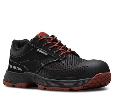 Dr. Martens Calamus LO Composite Toe EH Industrial Work Shoes Oxblood (Industrial Work Shoes)