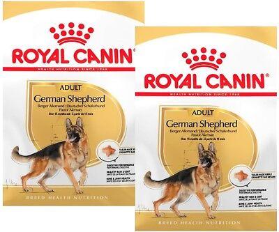 Royal Canin German Shepherd Adult Futter, Deutscher Schäferhund: 2 x 3 kg = 6 kg ()