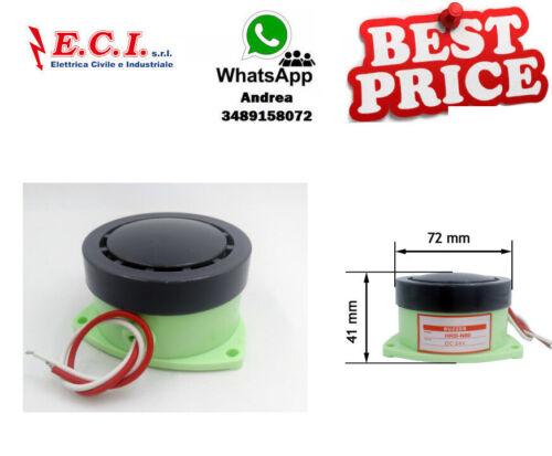 Buzzer HRB-N80 Dc 12V Type Electromagnetic Decibel High Sound Continuous