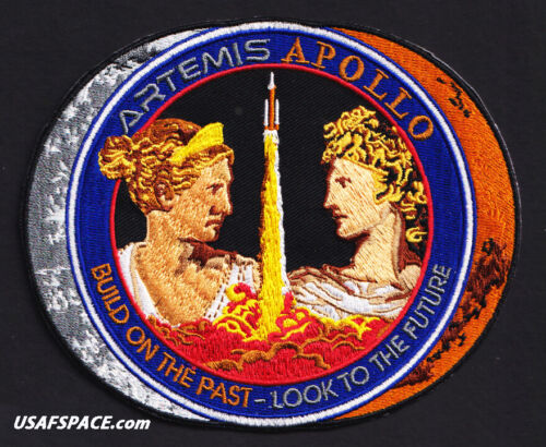 "ARTEMIS - APOLLO - TIM GAGNON ORIGINAL AB Emblem 5.25"" NASA SPACE Mission PATCH"