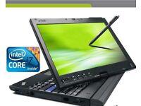 Lenovo x201 tablet intel Core i7- 8GB RAM, 240 SSD HD, WIN 7 Touchscreen