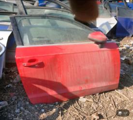 Audi a3 8v s3 offside front door red 3 door 13-20