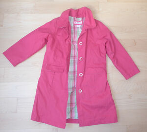 GAP girls' spring coat, size 4T, excellent condition