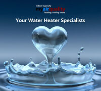 Your Local Water Heater Specialists.