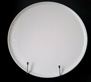 14-Inch Round Pillivuyt White Porcelain Large Serving Tray