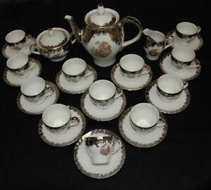 Vintage RICHARD GINORI Demitasse Set