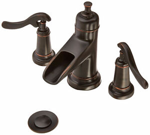 Pfister Ashfield Bathroom Faucet, Tuscan Bronze