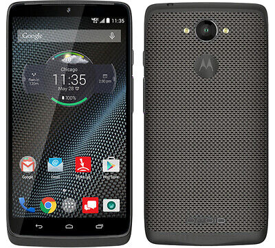 New Motorola DROID Turbo XT1254 Black Nylon (Verizon)(Tmobile) 4G/GSM Unlocked