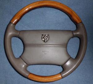 Original 1996 Jaguar Vanden Plas Steering Wheel c/w Air Bag