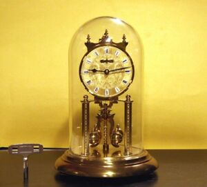 Anniversary Mechanical Clock Made In Germany With Key.